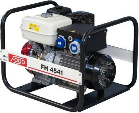Agregat prądotwórczy FOGO FH 4541 + Olej + Darmowa DOSTAWA