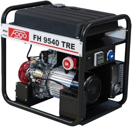 Agregat prądotwórczy FOGO FH 9540 TRE + Olej + Darmowa DOSTAWA