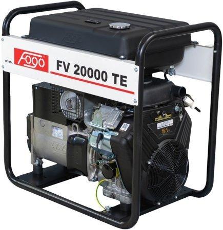 Agregat prądotwórczy FOGO FV 20000 TE + Olej + Darmowa DOSTAWA