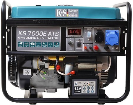Agregat prądotwórczy KONNER & SOHNEN KS 7000E ATS + Olej + Darmowa DOSTAWA